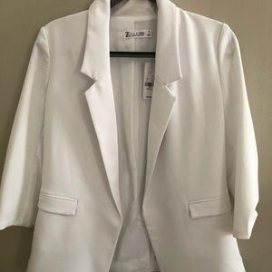New York & Company White Blazer! NWT!